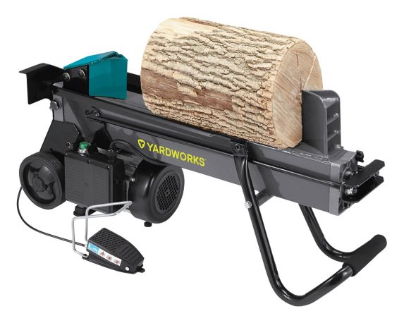 Yardworks 6-Ton Duo Cut Electric Log Splitter with Pedal Product image