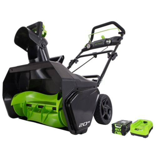 Greenworks 80V Brushless Snowthrower Product image