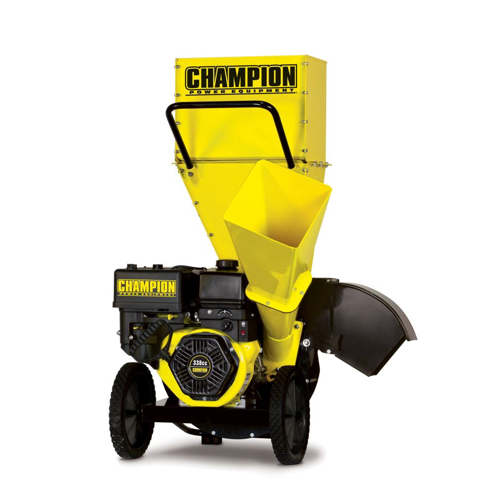 Champion 338 cc Gas Chipper/Shredder