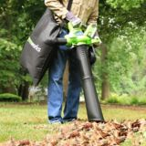Greenworks 40V LithiumIon Brushless Cordless Leaf Blower Vac | GREENWORKS | Canadian Tire