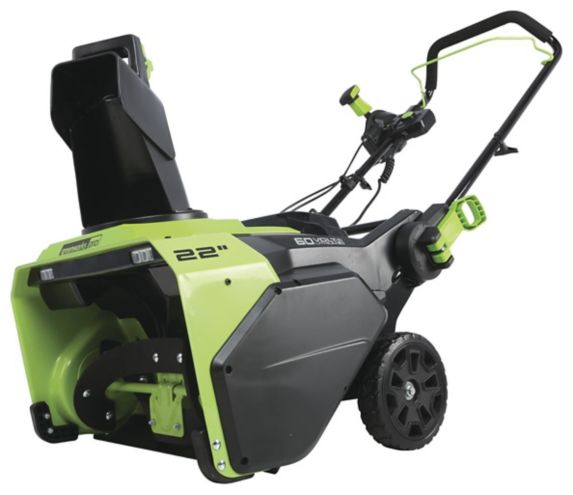 Greenworks 2x60V Cordless Snowblower, 22-in Product image