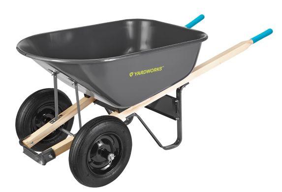 Yardworks 2 Wheeled Wheelbarrow 6 Cu Ft Canadian Tire