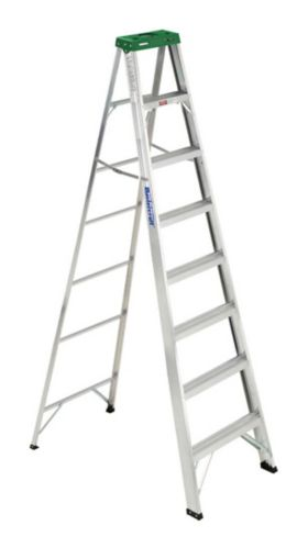Mastercraft Tradesman Aluminum Grade 2 Step Ladder, 8-ft Product image