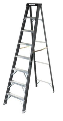 MAXIMUM Fibreglass Grade 1 Step Ladder, 8-ft