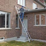 Mastercraft Grade 1A Multi-Task Ladder, 17-ft | Mastercraftnull