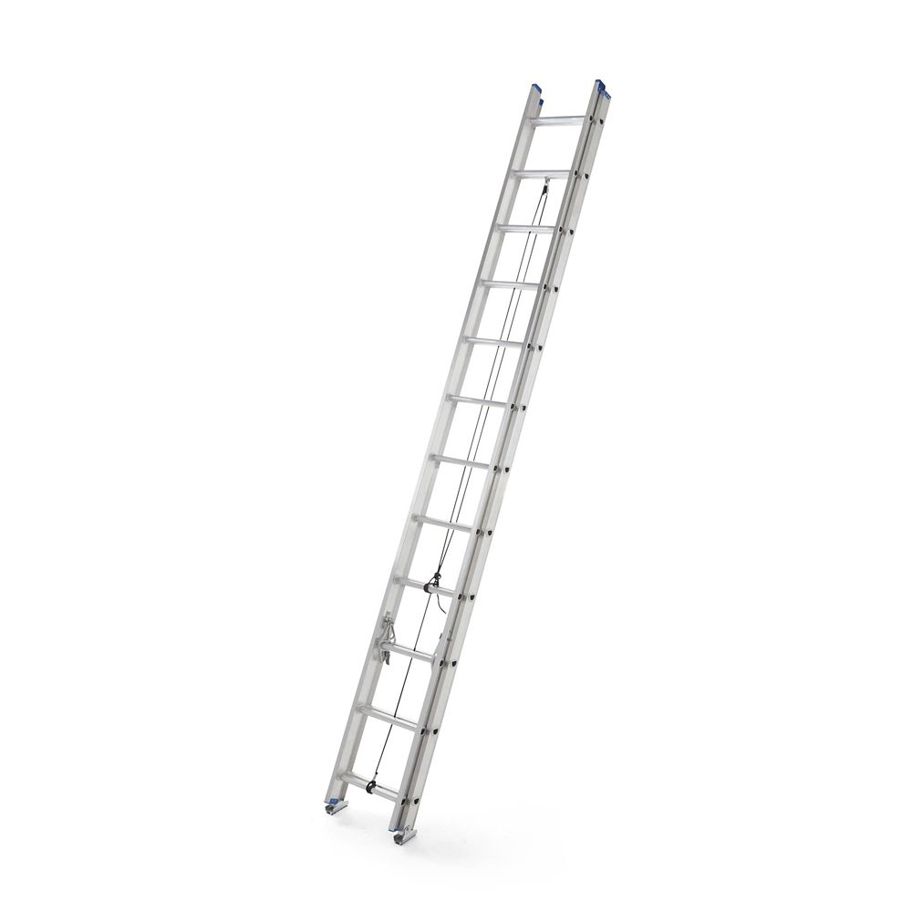 Mastercraft Grade 2 Aluminum Extension Ladder, 24-ft