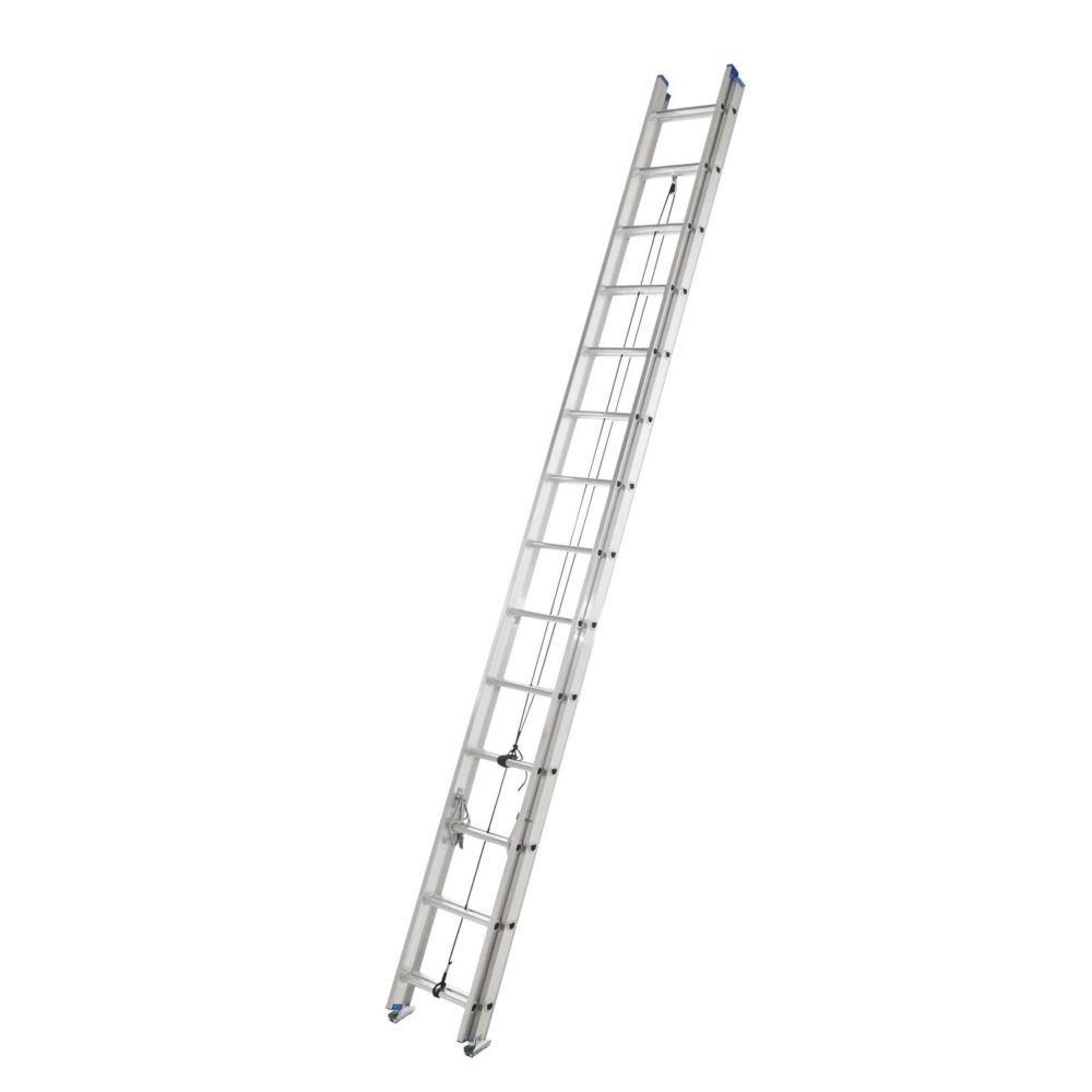 Mastercraft Grade 2 Aluminum Extension Ladder, 28-ft