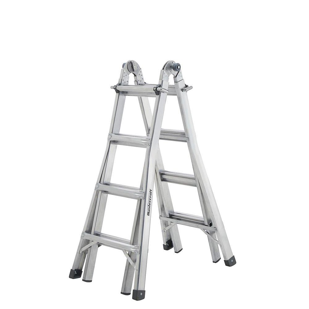 Mastercraft Multi-Task Ladder, Grade 1, 17-ft