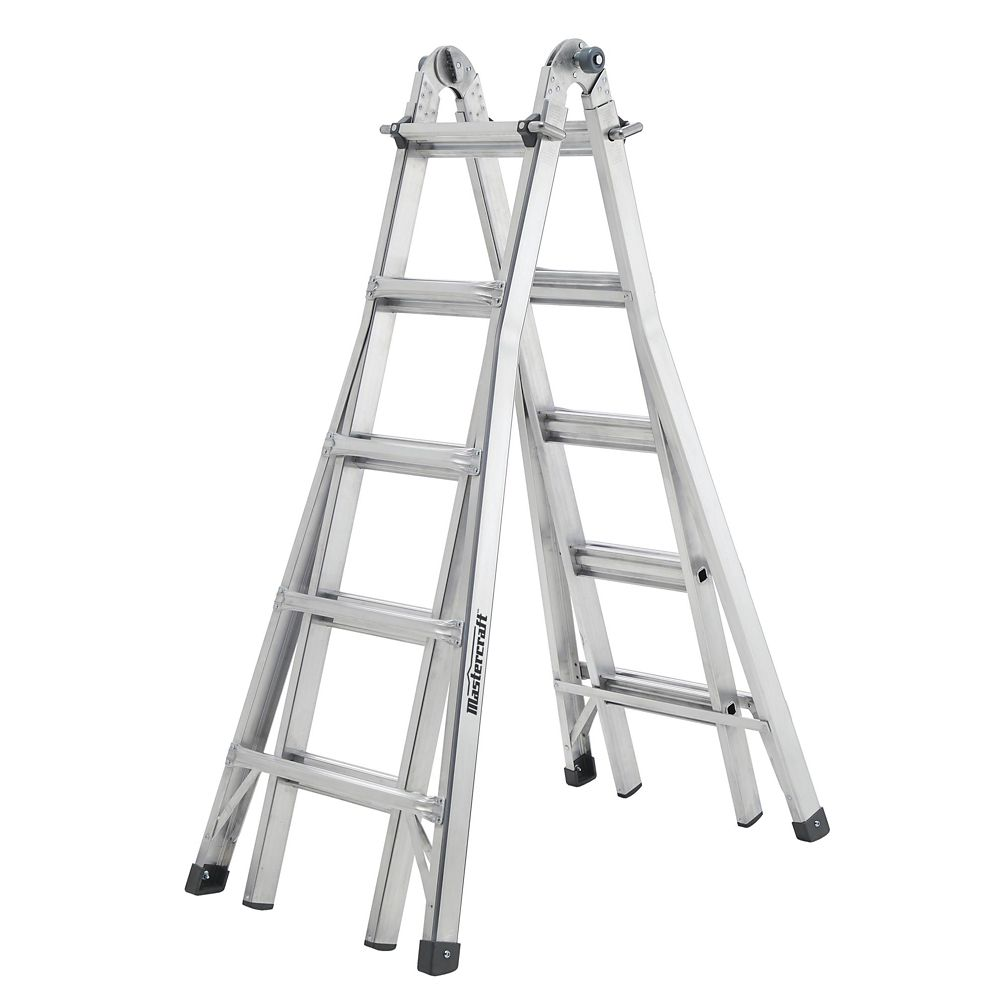 Mastercraft Multi-Task Ladder, Grade 1, 21-ft
