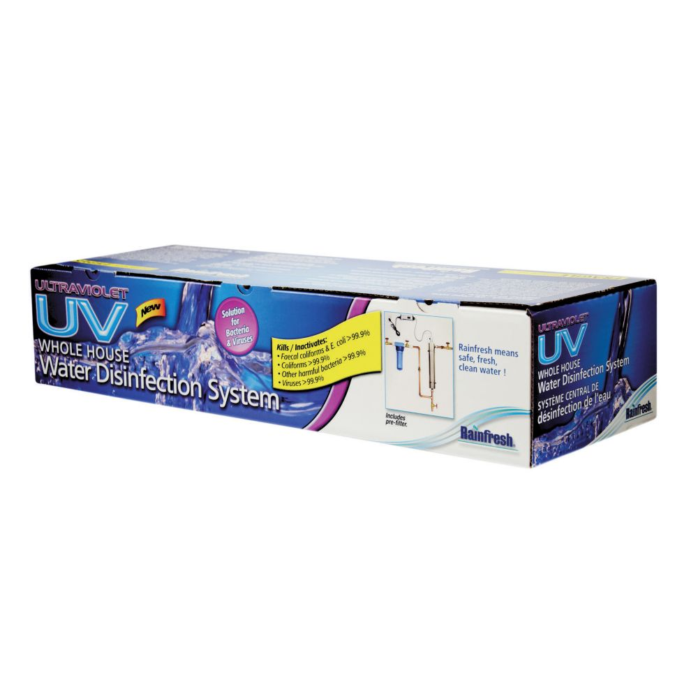 Rainfresh Whole House Ultraviolet (UV) Water Disinfection System R830F