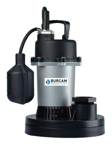 Burcam 1/3 HP Submersible Sump Pump