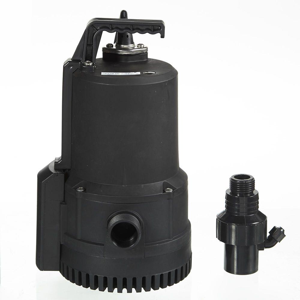 Mastercraft 1/4-HP Clog Resistant Utility Pump