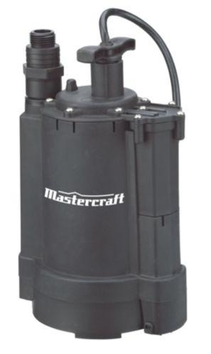 Mastercraft 1/3 HP Electronic Submersible Utility Pump Product image