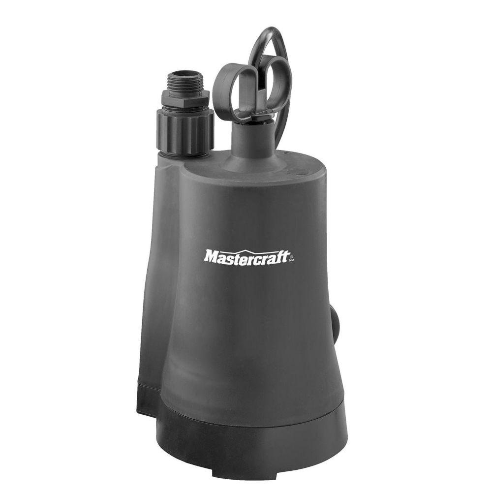 Mastercraft Submersible Utility Pump