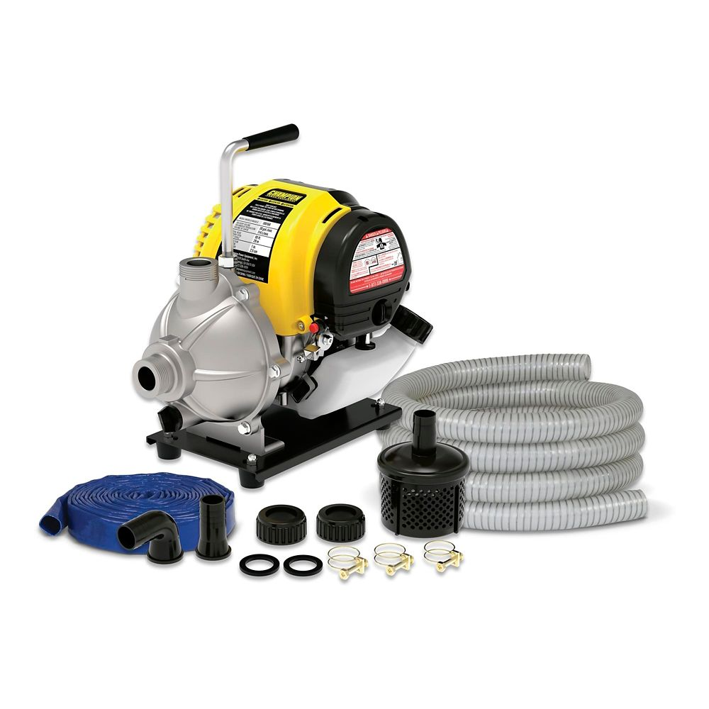 Champion Gas-Powered Water Pump Kit, 1-in