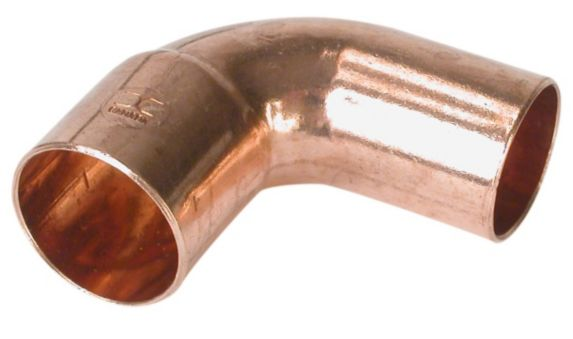 Bow Copper 45-Degree Elbow, Street Product image