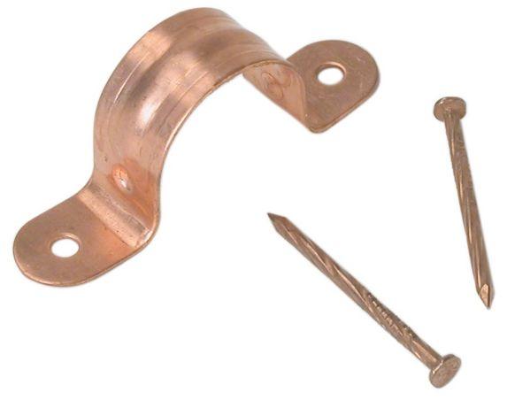 Attache de tuyau en cuivre Bow Image de l'article