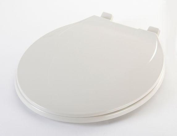 Siège de toilette gris, plastique Image de l'article