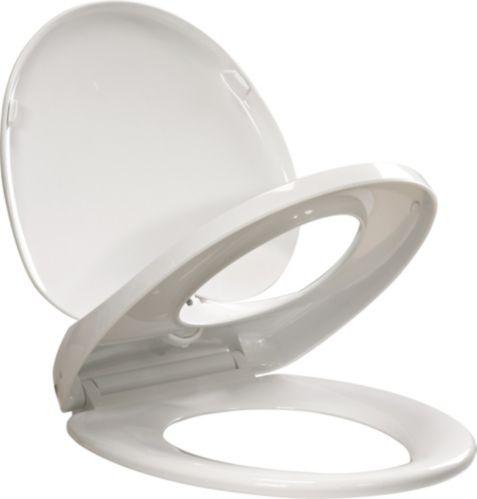 Siège de toilette Delta EZ Clean, fermeture lente, rond Image de l'article