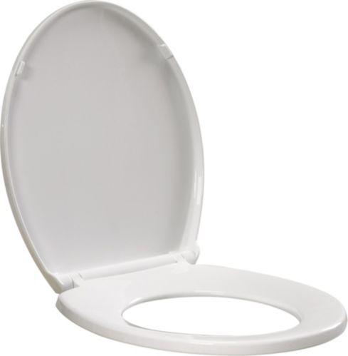 Siège de toilette allongé Delta EZ Clean, fermeture lente Image de l'article