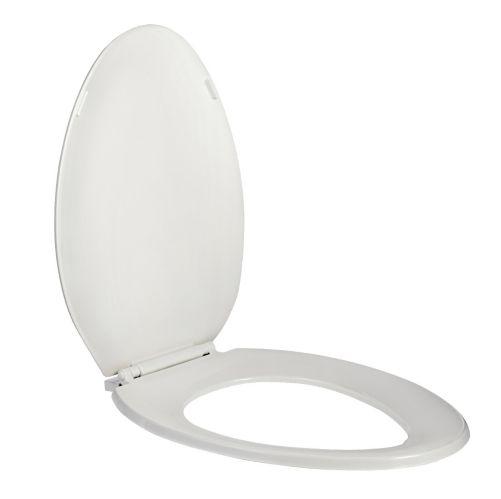 Siège de toilette allongé, blanc Image de l'article