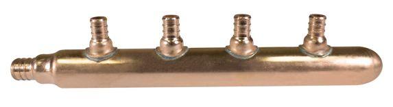 Manifold en cuivre PEX, 4 ports Image de l'article