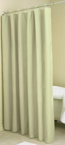 Rideau de douche vert uni Image de l'article