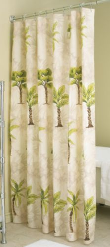 Rideau de douche, palmiers Image de l'article