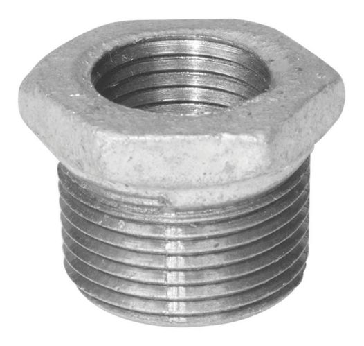 Aqua-Dynamic Galvanized Fitting Iron HEX Bushing, 1-1/4 x 1-in Product image