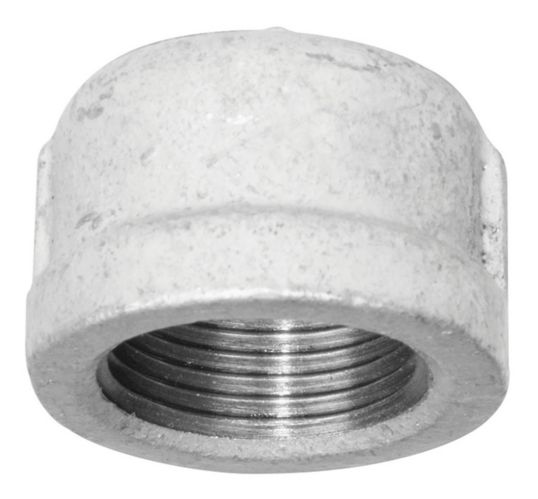 Aqua-Dynamic Galvanized Iron Fitting, Cap, 1-1/4-in Product image