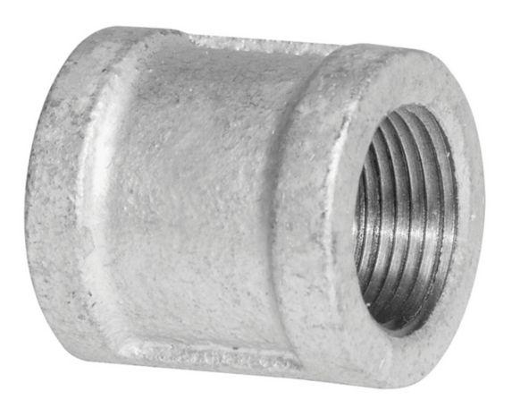Aqua-Dynamic Galvanized Iron Fitting, Coupling, 1-1/2-in Product image