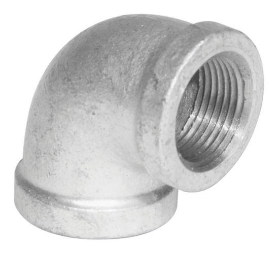 Aqua-Dynamic 90-Degree Galvanized Iron Fitting, Elbow Product image