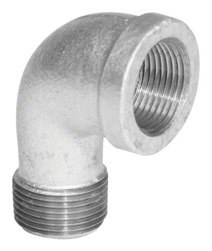 Aqua-Dynamic 90-Degree Galvanized Iron Fitting, Street Elbow Product image