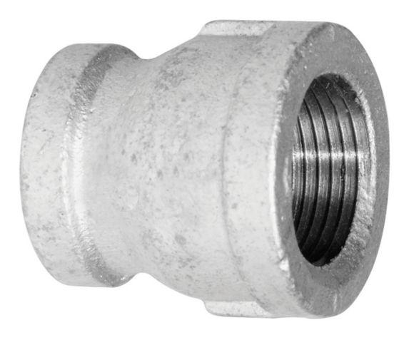 Raccord galvanisé Aqua-Dynamic, 1/2 x 3/8 po Image de l'article