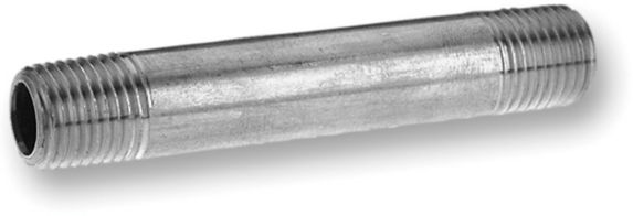 Aqua-Dynamic Galvanized Pipe Nipple, 3/4 x 3-in Product image