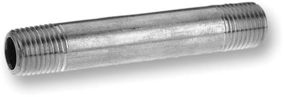 Aqua-Dynamic Galvanized Pipe Nipple, 3/4 x 6-in Product image