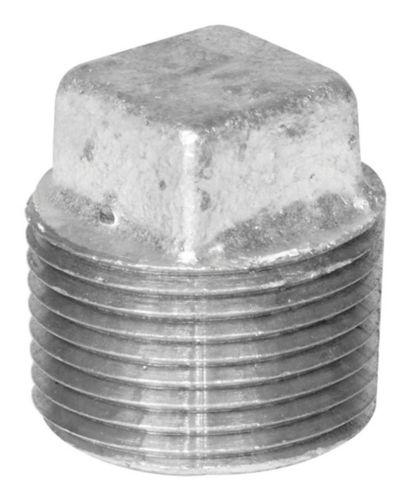 Raccord de tuyau galvanisé avec bouchon en fer Aqua-Dynamic, 1/2 po Image de l'article