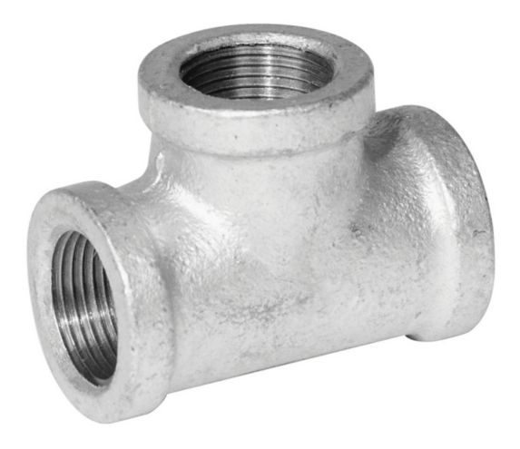 Aqua-Dynamic Galvanized Fitting, Tee, 1-in Product image