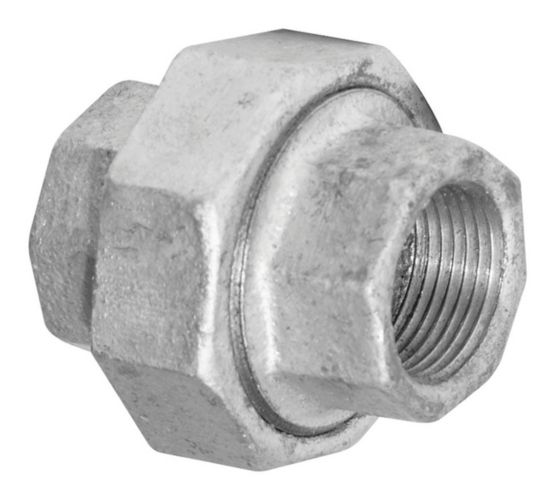 Aqua-Dynamic Galvanized Fitting, Union, 1/2-in Product image