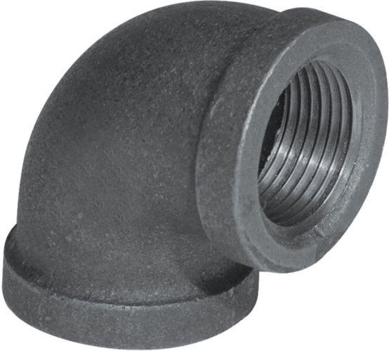 Aqua-Dynamic 90-Degree Black Galvanized Fitting, Elbow Product image