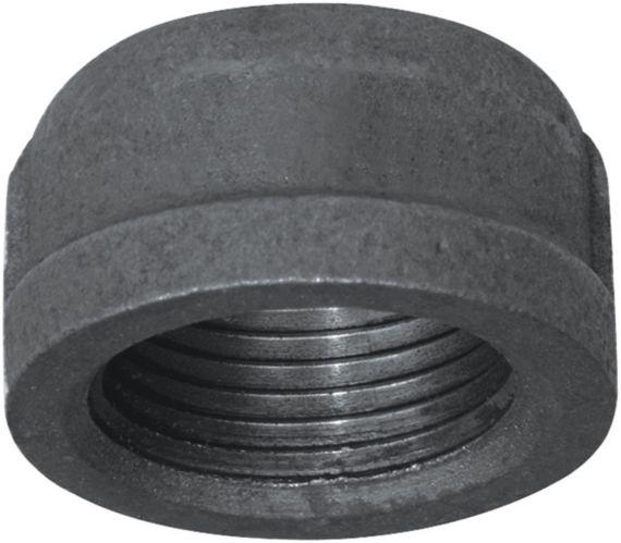 Raccord avec bouchon galvanisé Aqua-Dynamic, noir, 1 po Image de l'article