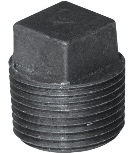 Raccord galvanisé noir avec bouchon Aqua-Dynamic, 1 po Image de l'article