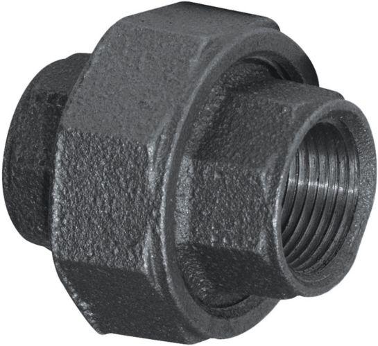 Raccord union galvanisé Aqua-Dynamic, noir, 1 po Image de l'article