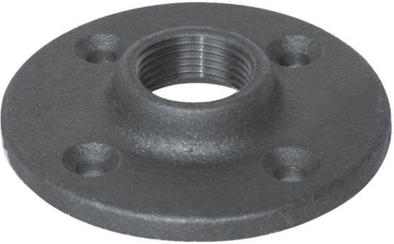 Aqua-Dynamic Black Galvanized Fitting, Flange, 1/2-in Product image