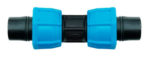 Watts ANKA Fiberglass Reinforced Nylon Straight Coupling, 3/4-in x 3/4-in Pipe Product image