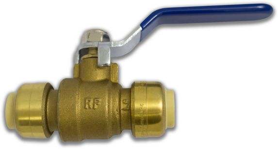 Push N' Connect Ball Valve, 1/2-in Product image