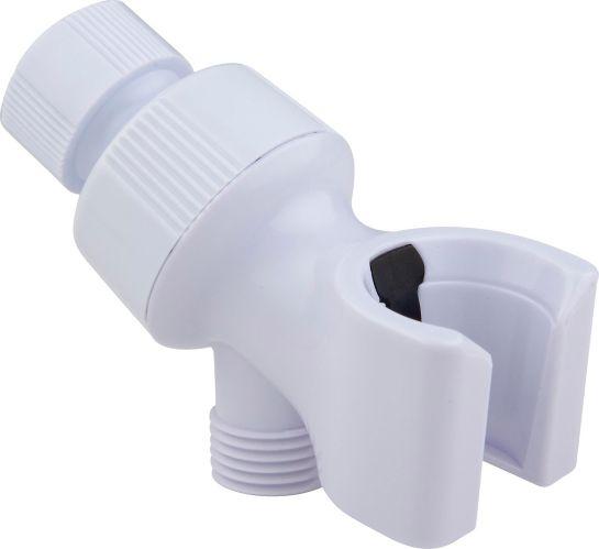 Peerless Shower Arm Mount, White Product image