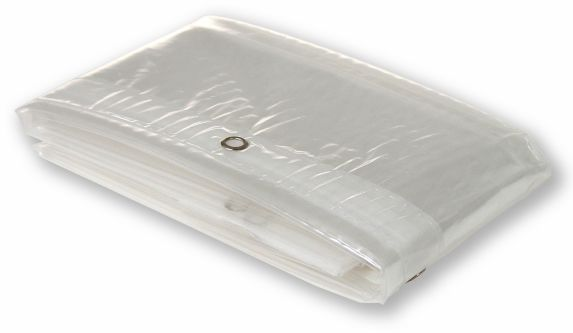 Vinyl Shower Curtain Liner, Clear Product image