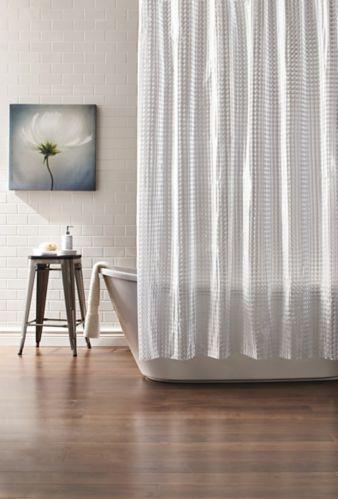Rideau de douche Cleanse, cubes 3D Image de l'article