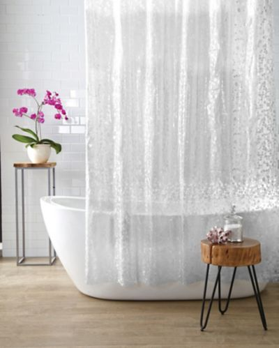 Cleanse 3D Pebbles Shower Curtain Product image